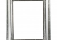Silver Mirrored Picture Frames