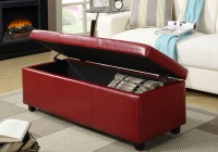 Simpli Home Avalon Large Storage Ottoman