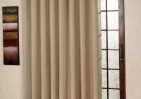 sliding door curtain panels