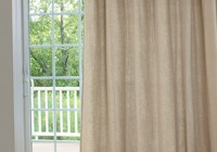 sliding door panel curtains