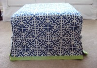 Slipcovers For Ottomans How To Make