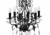 Small Black Chandeliers Cheap