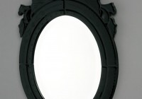 Small Black Framed Mirrors