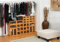small closet shoe storage