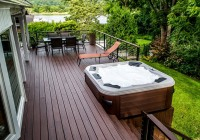 Small Deck Ideas With Hot Tub