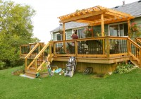 Small Deck Pergola Designs