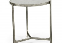 Small Silver Console Table