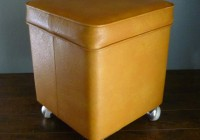 Small Storage Ottoman On Wheels