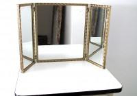 Small Tri Fold Vanity Mirror