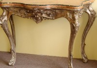 Small Vintage Console Table