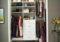 Small Walk In Closet Shelving