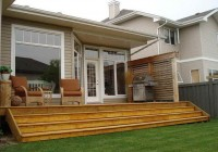 Small Wooden Deck Ideas
