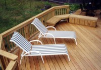 Small Wooden Deck Plans