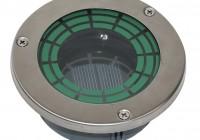 solar deck lights flush mount