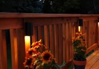 Solar Lighting For Decks Railing