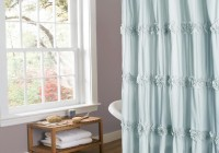 Spa Blue Shower Curtain