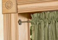 Spring Tension Curtain Rod Instructions