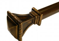 Square Curtain Rod Brackets
