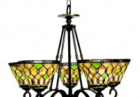 Stained Glass Chandelier Shades