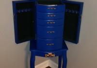 Stand Up Mirror Jewelry Box
