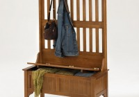 Storage Bench With Coat Rack Plans