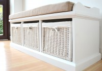 Storage Bench With Cushion Seat