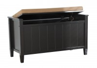 Storage Bench With Cushion Top