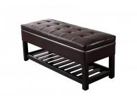 storage ottoman bench walmart