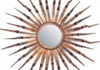 Sun Wall Mirror Decor