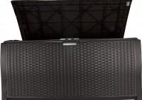 Suncast Resin Wicker Deck Box 134