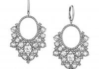swarovski crystal chandelier earrings