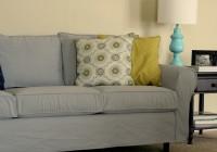 T Cushion Slipcover Grey