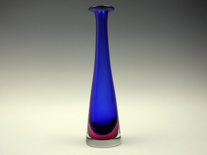 Permalink to Tall Blue Glass Vase