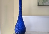 Tall Blue Glass Vases