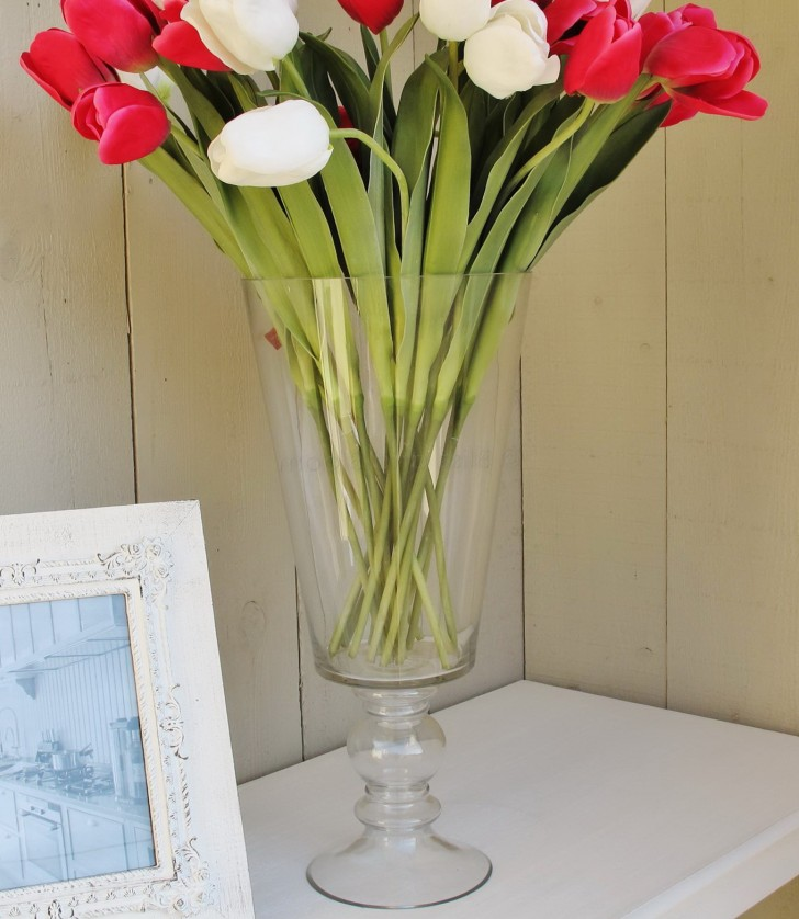 Permalink to Tall Glass Flower Vases