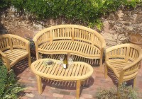 Teak Garden Bench Sydney