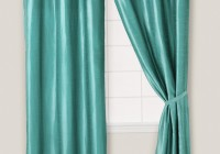 Teal Blue Curtain Panels