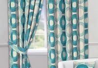 Teal Grommet Curtain Panels