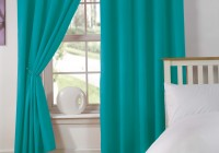 Teal Ready Made Curtains