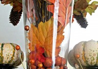 Thanksgiving Vase Filler Ideas