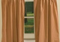 Ticking Stripe Curtains Sale