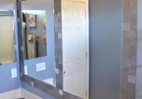 Tile Framed Mirrors Bathroom