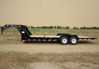 Tilt Deck Gooseneck Trailer For Sale