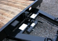 Tilt Deck Trailer Latch