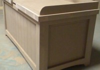 Toy Box Bench Seat
