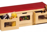 Toy Storage Bench Canada