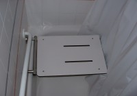 Transfer Tub Bench Shower Curtain