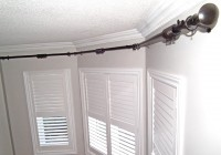 Traverse Curtain Rods For Bay Windows