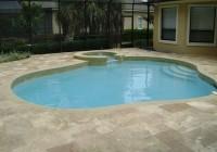 Travertine Pool Deck Cost