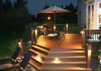 Trex Deck Lighting Solar